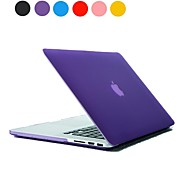 "Sólido Color del caso Frosted dura de la PC para el MacBook Pro Retina 13 ""(varios colores)"