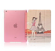 Tower Girl Full Body Case with Auto Sleep/Wake Up Function for iPad Air