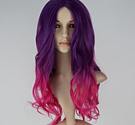 Cosplay Wigs Super Heroes Movie Cosplay Purple / Pink Patchwork Wig Halloween / Christmas / New Year Female
