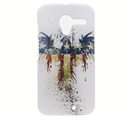 Kinston American Eagle Pattern Plastic Hard Case for Motorala Moto X