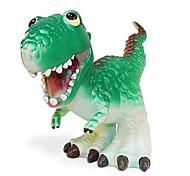 Tyrannosaurus Dinosaur Model Rubber Action Figures Toy(Green)