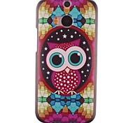 Diamond Owl Design PC Hard Case for HTC ONE M8