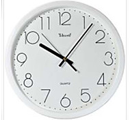 """Telesonic™ 12""""H  Brief Style Raised Scale Mute Wall Clock"""