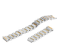 Women's 15mm Stainless Steel Watch Band