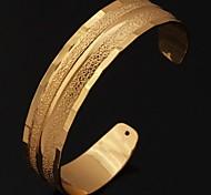 u7® pulseiras vintage para mulheres / homens 18k verdadeiro platina banhado a ouro pulseiras