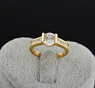 новое прибытие золота женщин покрытием горячий продавать простые щедрые циркон кольца