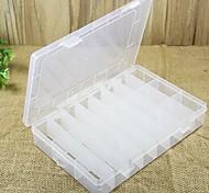 24 grade kit caixa transparente removível