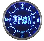 Internet OPEN @ Neon Sign LED Wall Clock