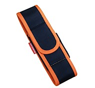 Huntereyes ™ Nylon Flashlight Holster for 50 x 190 mm (Flashlight + Battery)  Hanging Bags