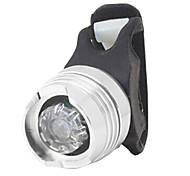 YELVQI White Light Silvery Aluminum Alloy Warning Cycling Tail Light