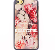 To Be Happy Design Aluminium Hard Case for iPhone 5C