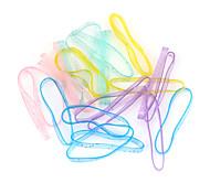 bandes de métier à tisser de grande taille multicolore élastique b pour les enfants (25 pcs)