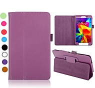 lichee Muster Flip Klappständer Auto Schlaf / Wach-Ledertasche Samsung Galaxy Tab 7.0 t230 4 (farblich sortiert)