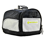 BOODUN Light Gray Waterproof Nylon Bike Bicycle Saddle Bag