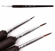 3 PCS Nail Art Tools  Painting Brush Kits