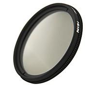 lente de filtro polarizador circular ultra delgado de 46 mm nisi pro cpl