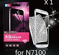 diamante protector de pantalla anti-radiación para Samsung Note 2 N7100 (1pcs)