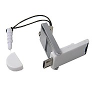 2 in 1 Micro SD Card Reader TF con USB 2.0 Micro USB OTG per Samsung Galaxy S2 S3 e PC