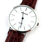 Men's Fashion Casual Business Leather Wrist Watch