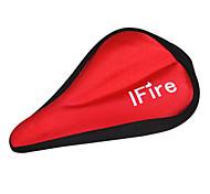 IFire Silica Gel Red Bike Bicycle Saddle Capa
