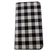 Beautiful Squares Pattern PU Leather Full Body Case with Stand for Samsung Galaxy Grand I9080/I9082