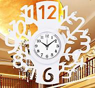 """21.6 """"estilo moderno reloj de pared del número artístico"""