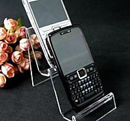 Классический mp3 мобильный телефон два этажа стоят прозрачные акриловые дисплеи ювелирных изделий (1 шт)