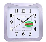 """Telesonic™ 16""""H Rounded Square Shape Super Mute Wall Clock"""
