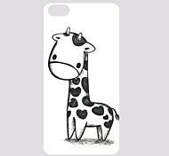 Lovely Giraffe Pattern PC Back Case for iPhone 5C
