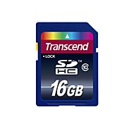 Transcend 16GB SDHC SD Card (Class 10 High Speed)