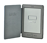 Solid Color Crazy Horse Leather Case for Kindle 4/5(Assorted Color)