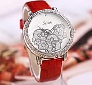 Новая мода Селден Ручная роспись искусственная кожа Часы (разных цветов)