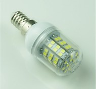 5W E14 Bombillas LED de Mazorca T 60 SMD 2835 500 lm Blanco Fresco Decorativa AC 100-240 V