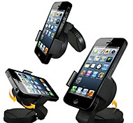 Phone Holder Stand Mount Car 360° Rotation Plastic for Mobile Phone