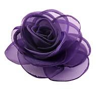 elegante moda cotone cubo rosa spilla fiore delle donne
