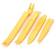 DIY 4 4 in 1 DIY Dismantle Tools Set for Car Video/Audio Navi System   Orange Yellow  104