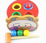 Tabela de madeira bola bateu Infantil de brinquedos educativos