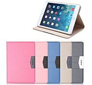 манго серии смарт-кожаный чехол с подставкой и автоматического перехода в спящий / пробуждения для iPad2 3 4 (ассорти цветов)