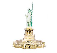 3D Puzzle The Statue of Liberty Model Magic Puzzles for Children and Adult Educational Toys(22PCS)