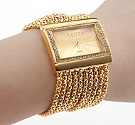 Women's Watch Bracelet Gold Diamond Case Alloy Band Cool Watches Unique Watches Fashion Watch
