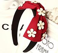 Daisy Fabric Bow Hair Band Headbands