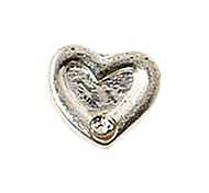 20PCS Fashion Alloy Heart Floating Charms For Memory Living Locket(44 PCS Per Package)