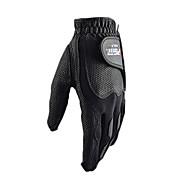 PGM Men's Left Hand Synthetic Leather+Lycra Black High Elastic Magic Golf Gloves-1 Piece