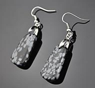 Earring Drop Earrings Jewelry Women Party / Daily Gem Black / Red