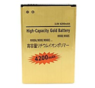 High Capacity 3.7V 4200mAh Batteries for Samsung Galaxy Note 3 III N9000