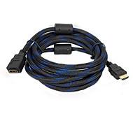 3m 9.8ft HDMI v1.4-Stecker auf v1.4 weiblichen Kabel für 3D-TV-Computer-DVD versandkostenfrei hdmi