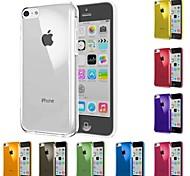 vormor® caso duro cor pc sólida para iphone 5-C (cores sortidas)
