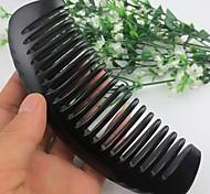 Natual Large Comb Tooth Distance Black Horn Comb Helath Comb