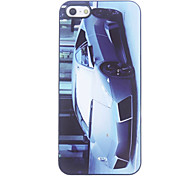 Cabriolet Pattern Aluminium Hard Case for iPhone 5/5S
