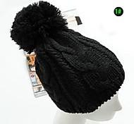 Unisex Wool Blend Beanie/Slouchy , Cute/Casual Winter